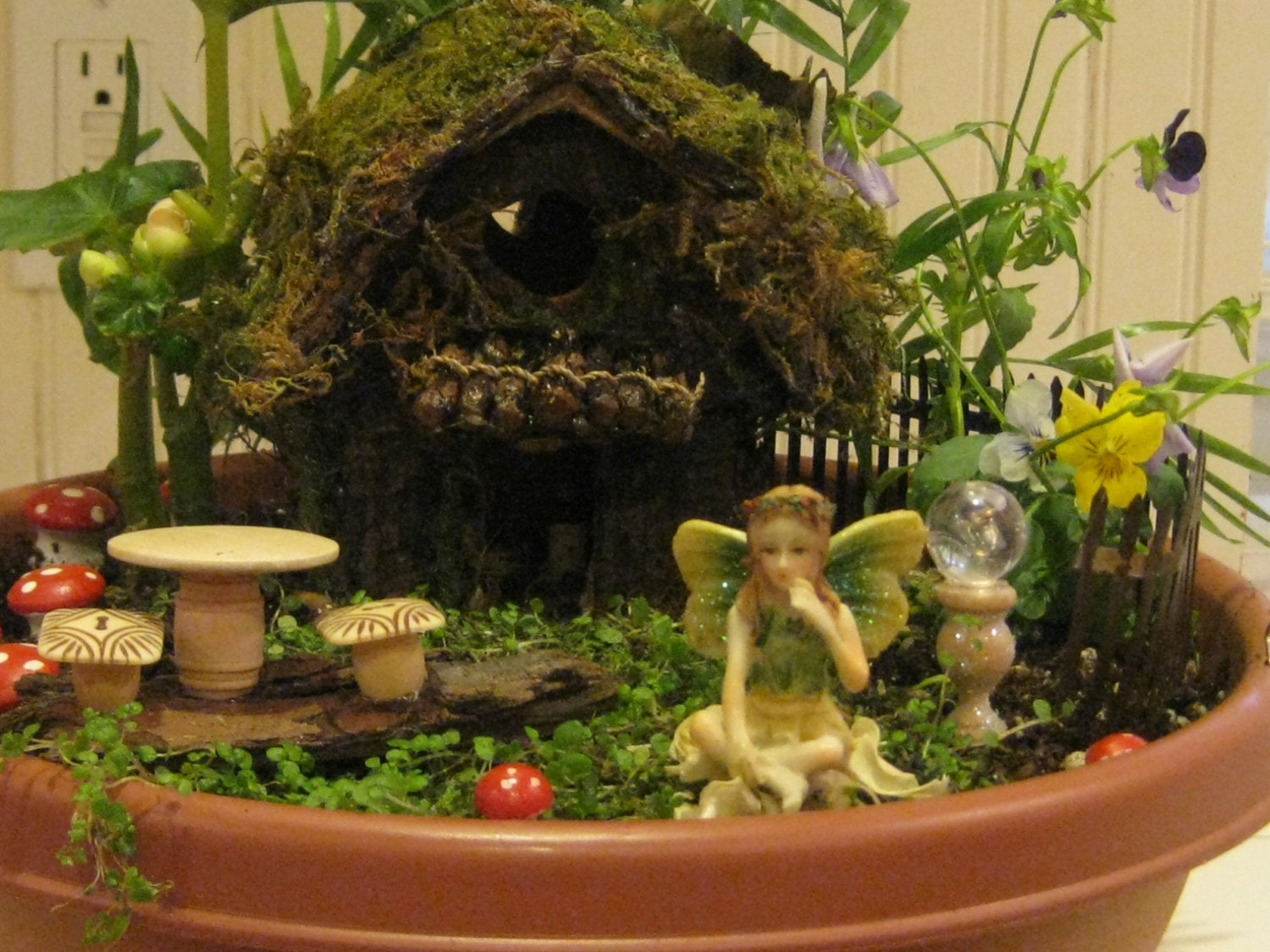 Complete Fairy Garden Starter Kit 5 by CLOUDFAIRY on Etsy