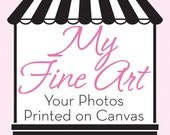 Gift Certificate for a Custom Canvas -You Choose the Amount