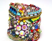 Custom Diamonds are a Girls Best Friendship Cuff- Example