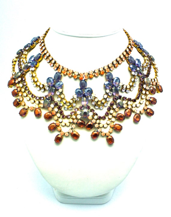 One of a Kind Statement Necklace- Istanbul