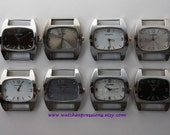 Clearance... Blemished Large Chunky Watch Face...Solid Bar, Interchangeable, Removable