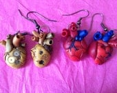 Heart Anatomy Earrings