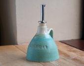 Hand-thrown Ceramic Vinegar Pourer