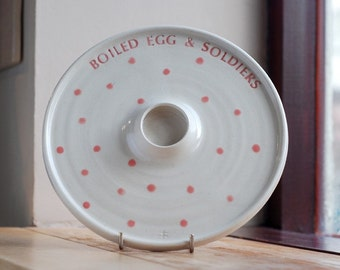 Boiled Egg & Soldiers Plate