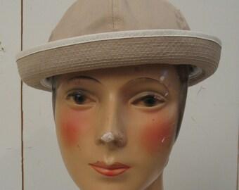 Vintage Madcaps kahki ladies womens hat