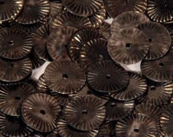 100 sequins METALLIC