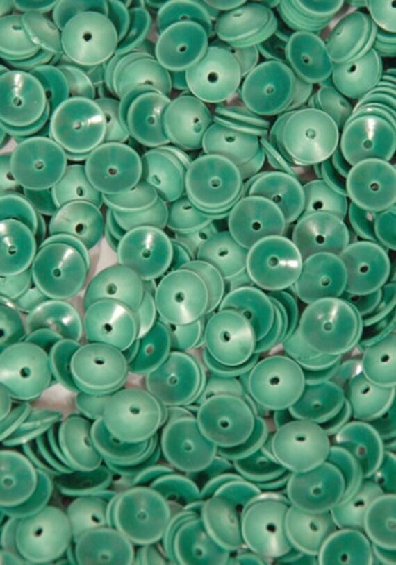 100 SEQUINS MATTE.........Green Color/KBRS063