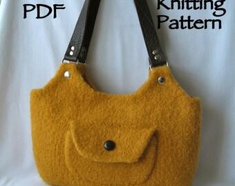Felted Shoulder Bag Pattern 93