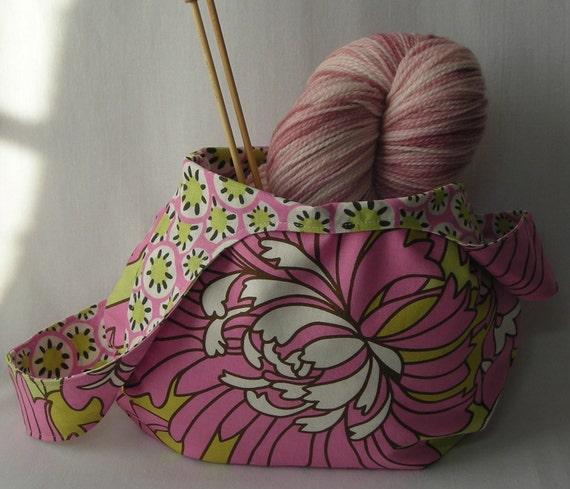 Knitting Project Bag Pattern Free : Knitting Project Bag Crochet Project Bag amigurumi bag