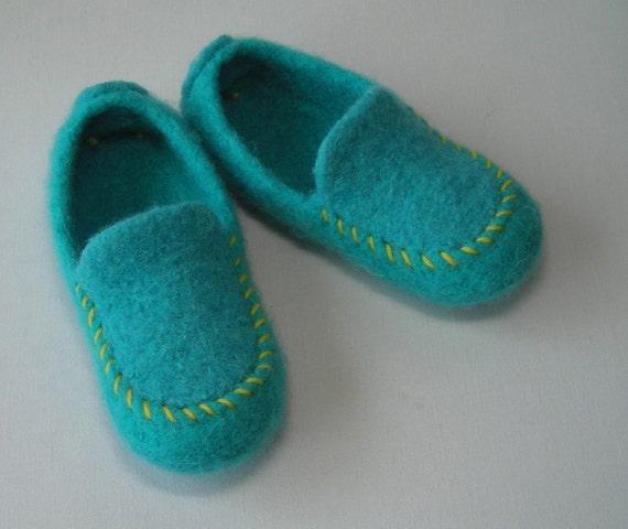 Childrens Slipper Soles - non-slip suede leather soles for children...