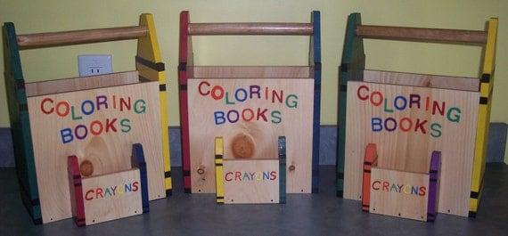 KIDS COLORING TOTE