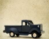 Blue Truck Baby - Vintage