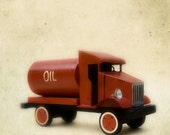 Vintage Red Toy Truck
