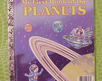 My First Book of the Planets Little Golden Book