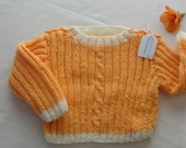 Baby Sweater size 1 for Boy or Girl icecream Cotton