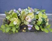 Green Goddess Silk Floral Arrangement