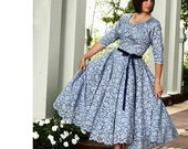 Womens Sewing Pattern Swing Dress gathered skirt Southern Belle 8503