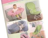 SIMPLICITÉ modèle 4636 accessoires pour bébé, couverture, housse de siège d'auto, poussette couvercle, panier, neuf et non découpé à bascule