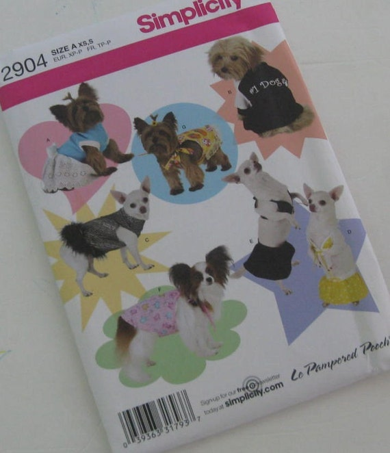 Simplicity Patterns For Small Dogs