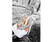 Mea Dress Pillowcase Dress Style sewing pattern- PDF downloadable printable sewing pattern Sizes 0-6M thru 10Y