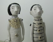 Clay Art Dolls -The Seamstresses I