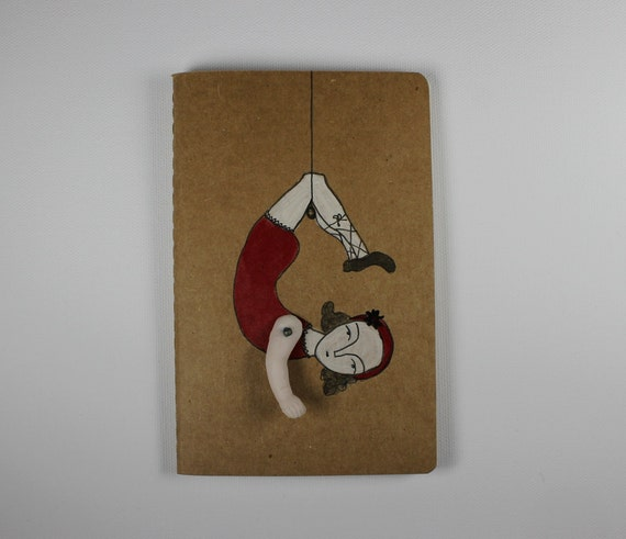 Moleskine Cahier journal- ruled- daring young girl