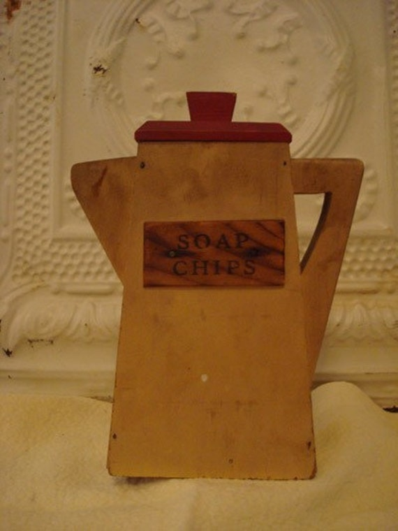 Vintage Laundry Soap Chip Dispenser By Tripletmom2 On Etsy