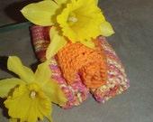 Three Knit Washcloths