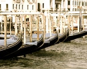 SALE Italy Gondole Venice Italy Grand Canal 8x10 signed print