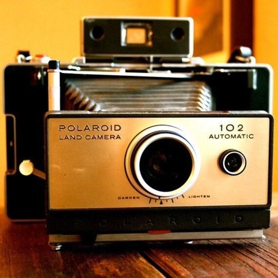 Model Land Movie: Vintage Polaroid Land Camera Model 102 1964 To 1967