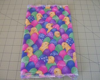 Fabric Easter Decor Easter Eggs Ducks Duckling Fabric
