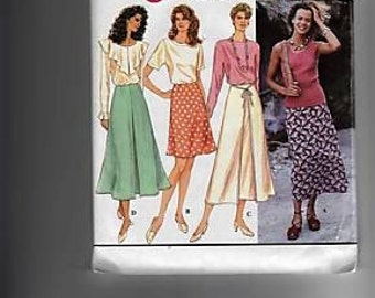 Simplicity Sewing Pattern 9114 2 Hour Skirt Size 12 14 16