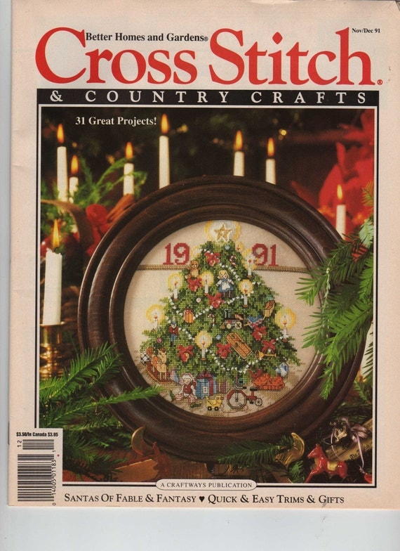 Better homes and gardens cross stitch and country crafts Better homes and gardens tonight