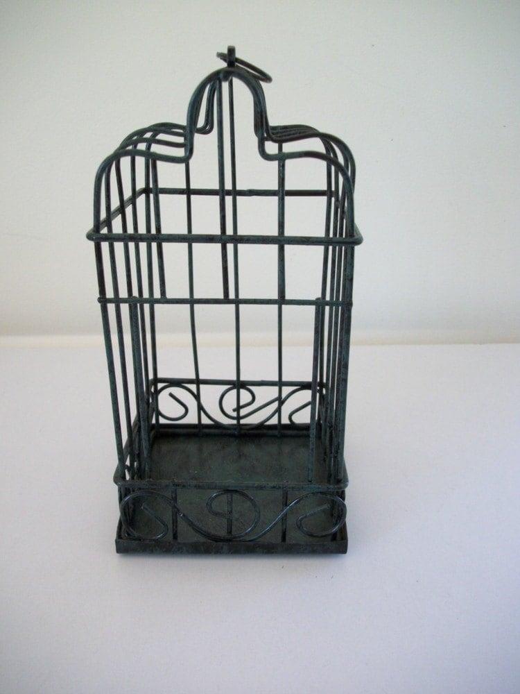 Home Decor Metal Birdcage Craft Decor Wire Bird Cage