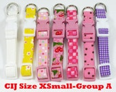 Christmas in July PIF Potluck Dog Collar Size XSmall
