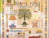 Family Reunion Applique Quilt Pattern from Bee In My Bonnet
