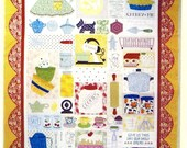 Grandma's Kitchen Applique Quilt Pattern from Bee In My Bonnet