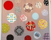 Simply Circles Applique Quilt Pattern