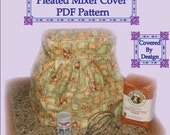 Pleated Mixer Cover Pattern for KitchenAid Stand Mixers
