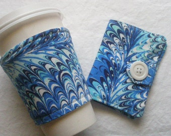 Tea Wallet and cup Cozy set Ready to Ship