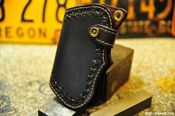Plain Star Fin,  Mens chain wallet by steveb