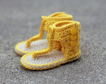 The Cleopatra - Gladiator Style Baby Sandals, Booties