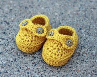 The Penny- Crochet Baby Loafers