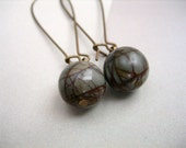 Stone Cold Drops - with red creek jasper