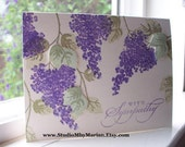 CARD With Sympathy .... Thinking of You