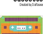 Cassette Cross-Stitch Pattern