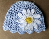 PDF crochet pattern Daisy Beanie for Toddler