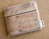 Mens Woodgrain Wallet