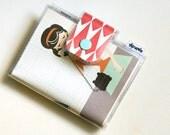 Vintage Secretary  - Bifold Card Wallet