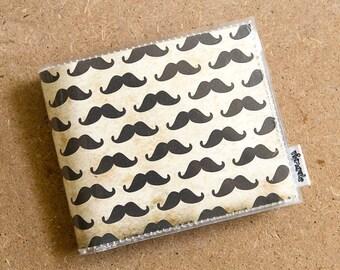 Mens Wallet - Mustache